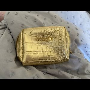 Other - Benefit gold cosmetic pouch